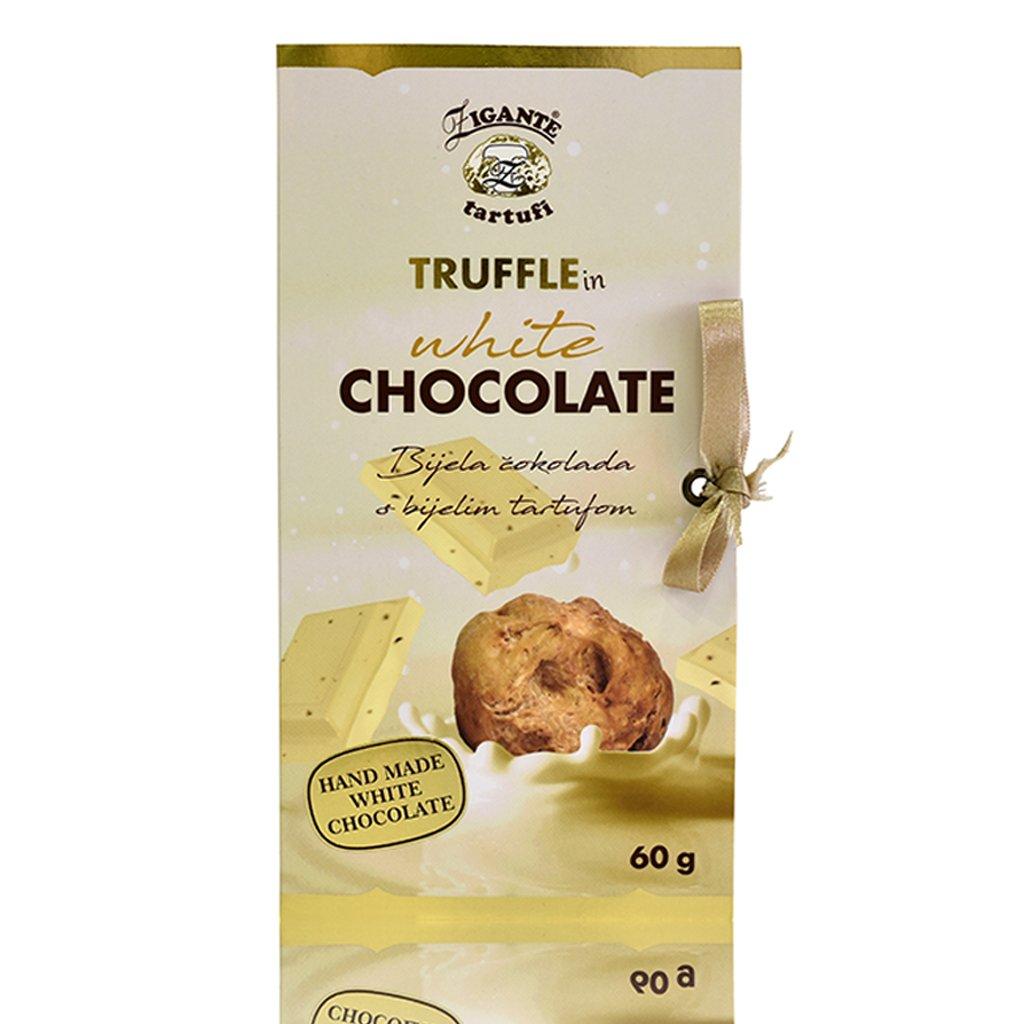 Bela čokolada z belim tartufom