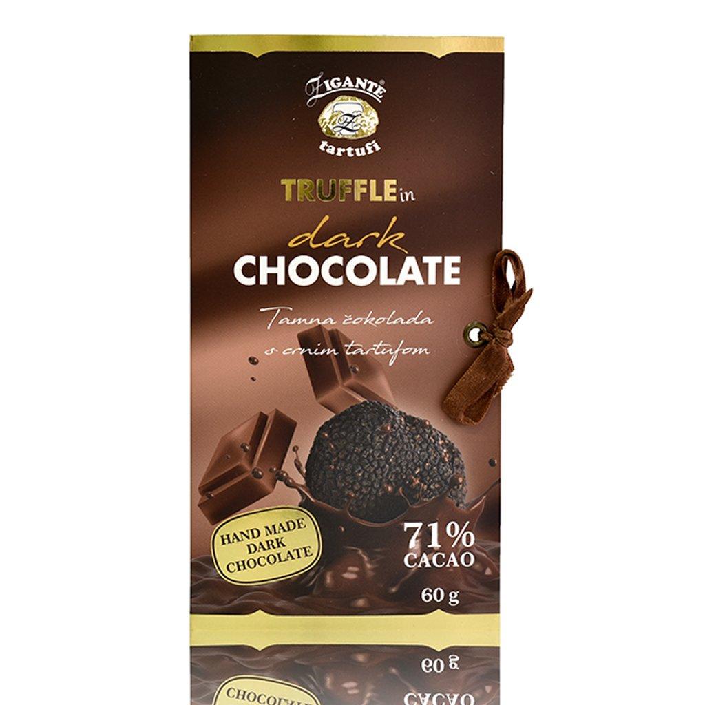 Temna čokolada s črnim tartufom