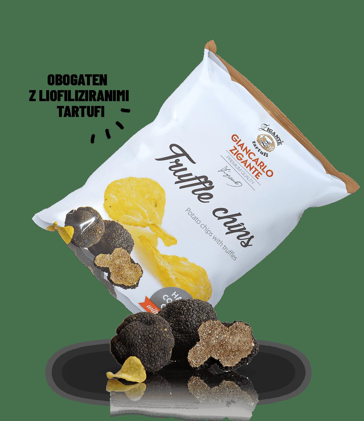 Zigante čips s tartufi
