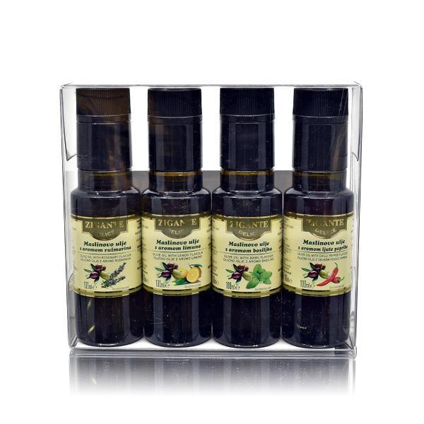 Kolekcija aromatiziranega olja