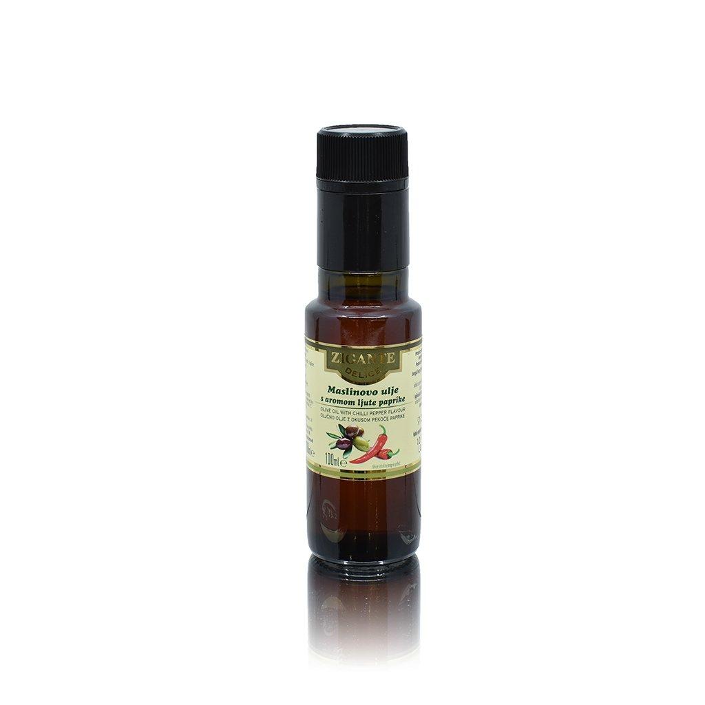 Oljčno olje z okusom pekoče paprike