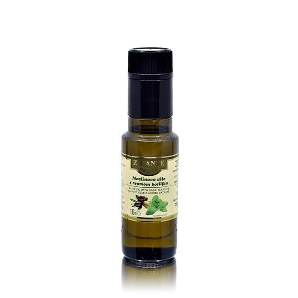 Oljčno olje z aromo bazilike