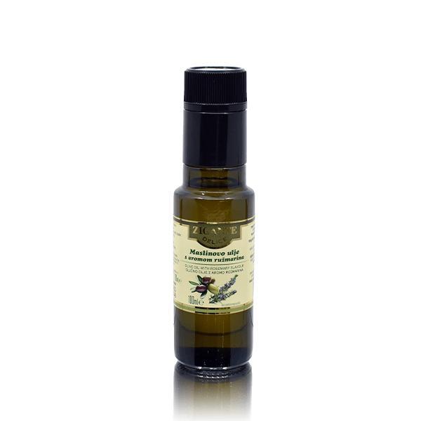 Zelene olive z rožmarinom