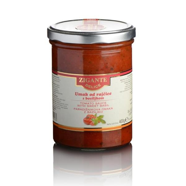 Pekoča paradižnikova omaka